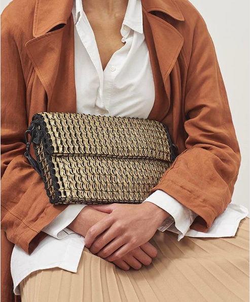 ummer bags are woven for SS19