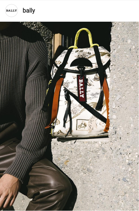 Men's designer bag brands on instagram