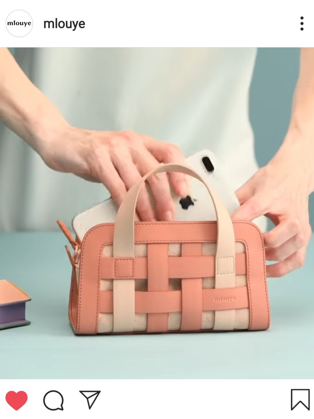Mlouye Mini Woven bag