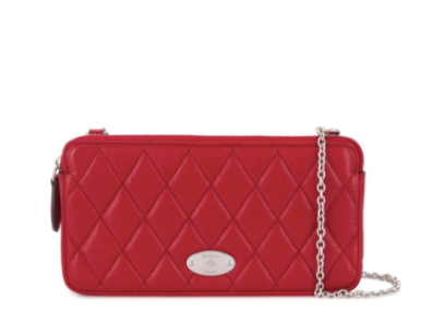 Mulberry quilted shoulder bag 25% off