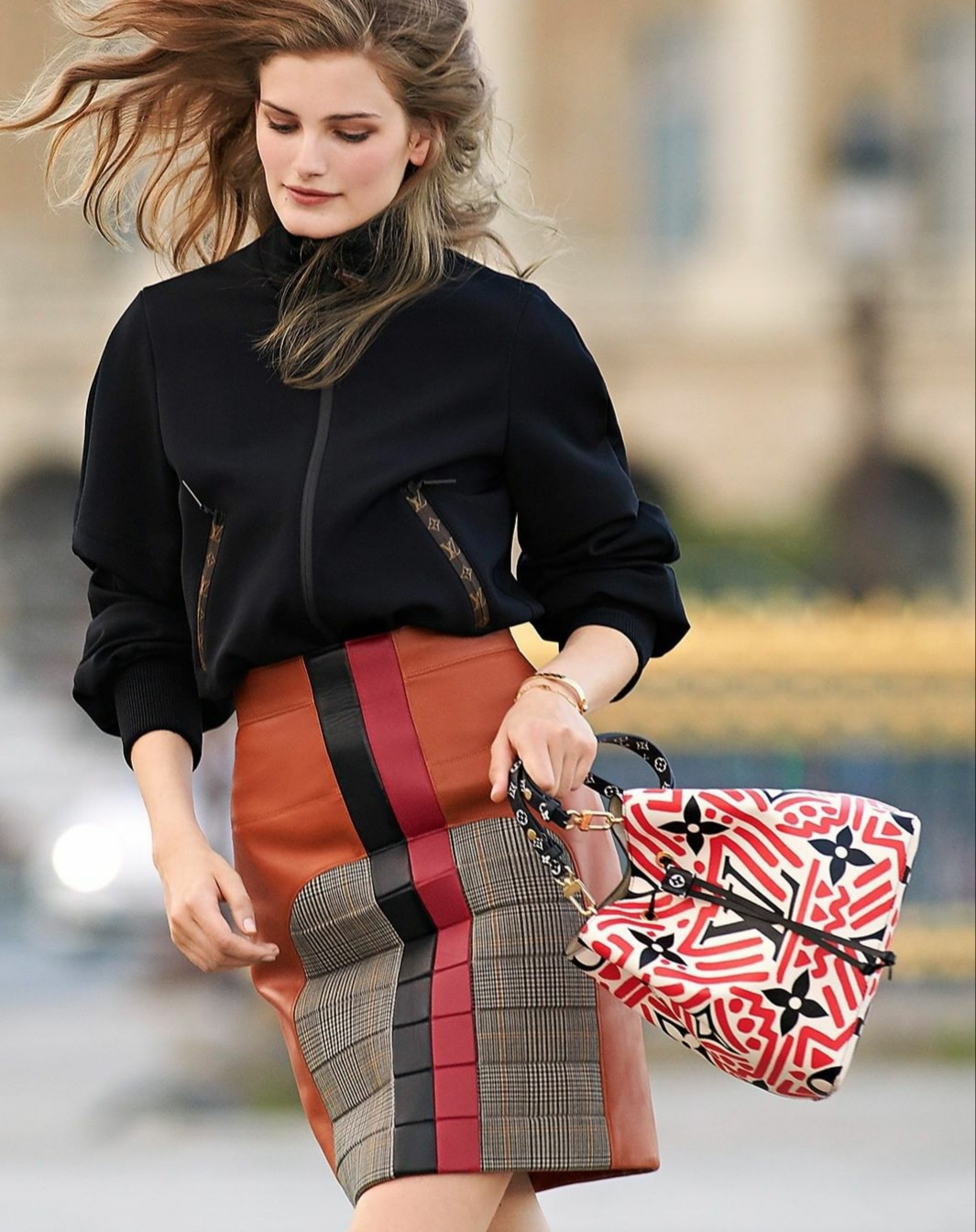 Red handbags and shoulder bags