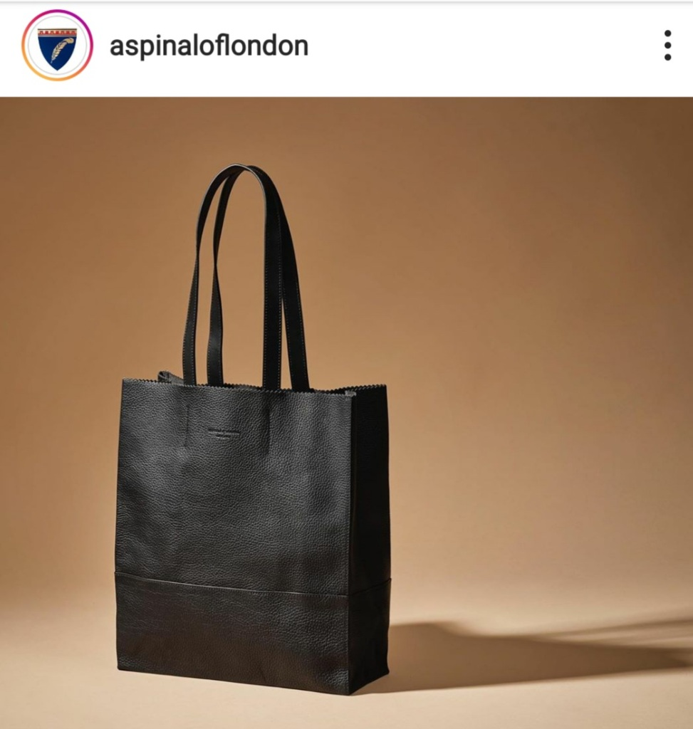 Tall tote bags on instagram