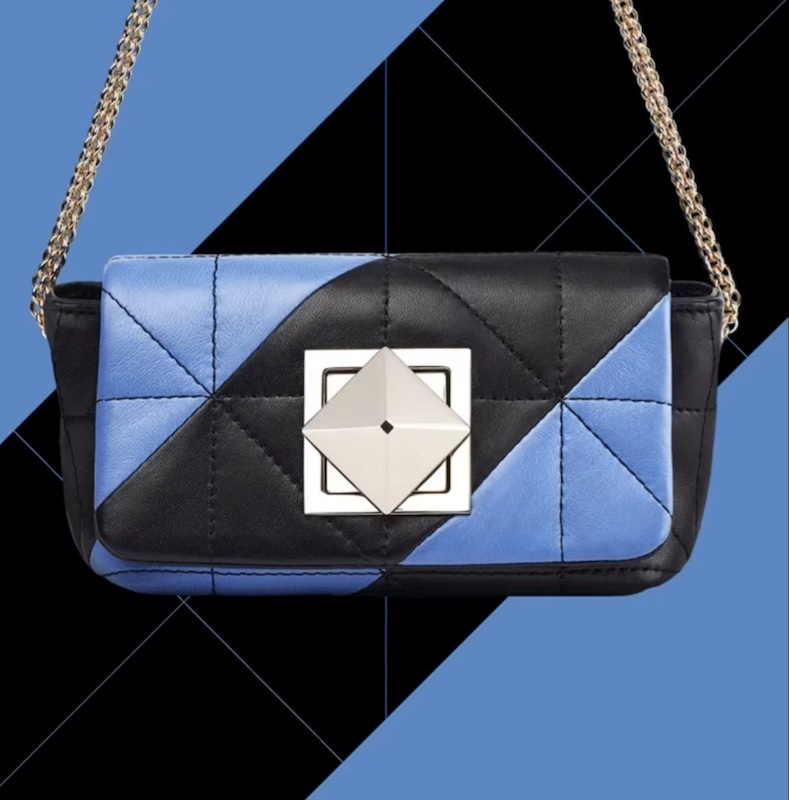 AW'20 and SS;21 blue fashion bags