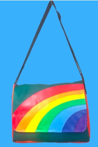 Small bag businesses discovered on Etsy - bags from recycled materials