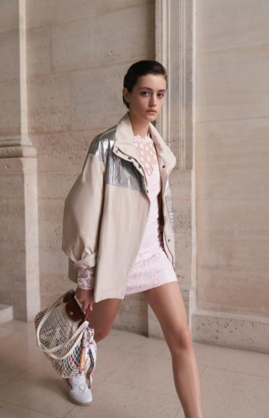 Longchamp Le Pliage Filet bags
