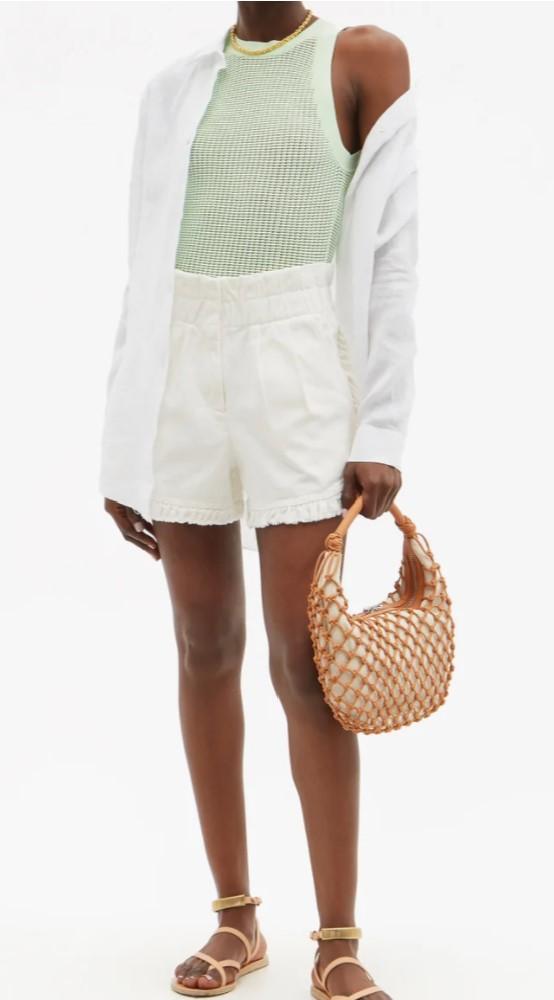Staud Luna string shoulder bag