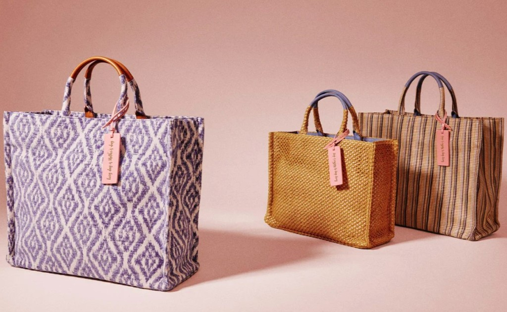 Beach bags for everyone this SS'21