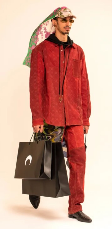 Men's outfits, colours, bags for AW'21